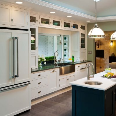 Live in place designs contractor work - accessible kitchen