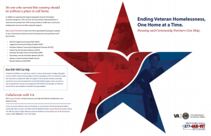 Veterans Aging in Place: Veterans Deserve a Welcome Home