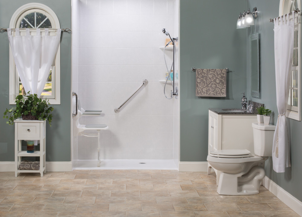 replace a bathtub with a walk in shower