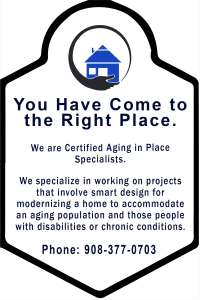 Certified Aging in Place Specialist for Home Remodeling