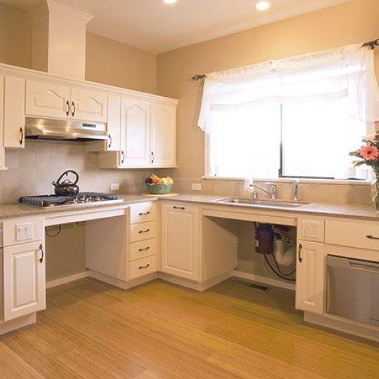 handicap remodeling contractors kitchen