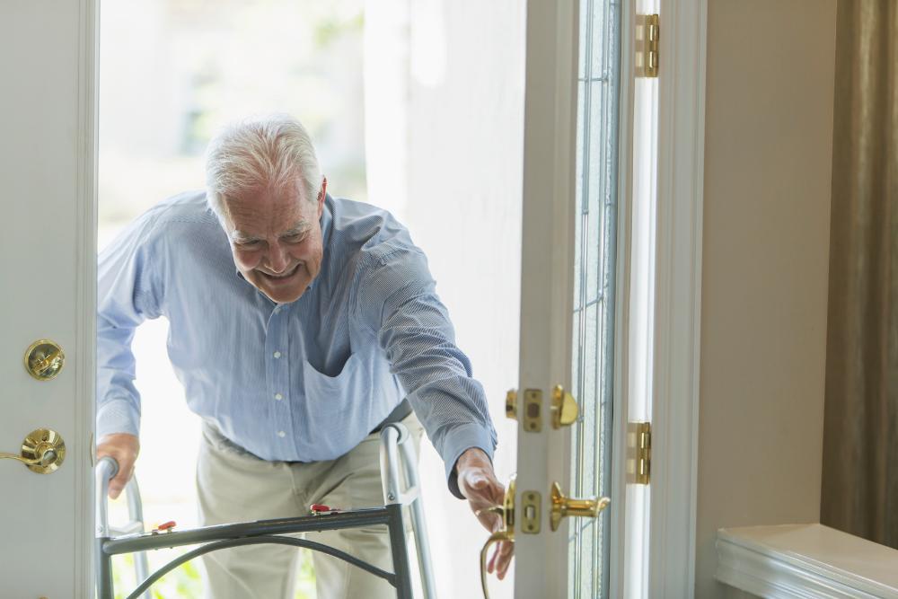 aging in place front door