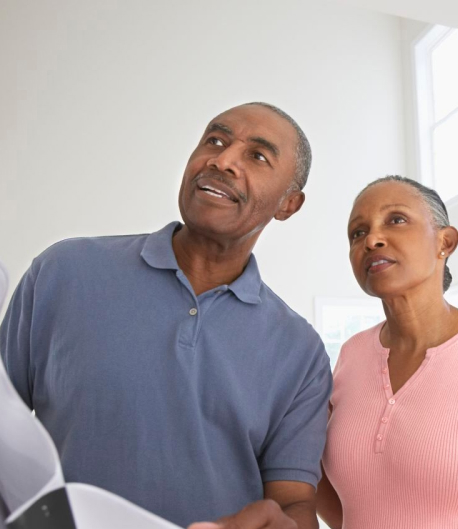 couple ready for living in place design